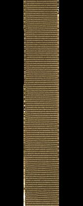 Przewlekany pasek Grosgrain w stylu wojskowym