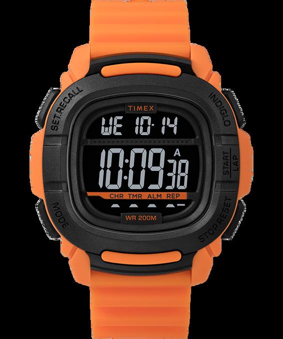 Boost 47mm Silicone Strap Watch Orange/Black large