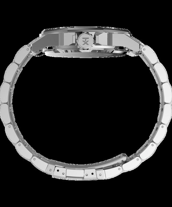 Zegarek Essex Avenue 44 mm ze stalową bransoletą Srebrny/Stal nierdzewna/Czarny large